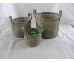 Sell Jute Flower Basket