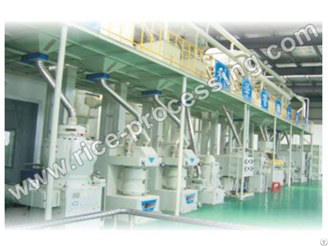 Automatic Rice Mill Production Line