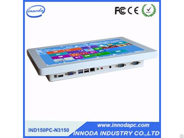 Fanless Industrial Computer With Com Port