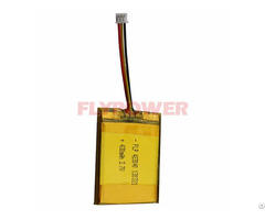 Lithium Battery 3 7v 430mah Rechageable Pack