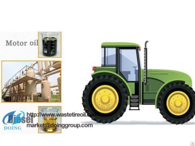 Tyre Oil To Diesel Plant