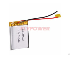 Lithium Battery 3 7v 780mah Rechageable Pack