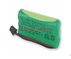 Ni Mh 3 6v Aaa800mah Rechargeable Battery Pack 3s Of Fh Aaa800