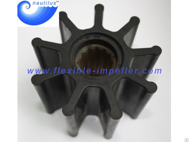 China Flexible 9 Vanes Neoprene Pump Impeller Replace Jabsco Johnson
