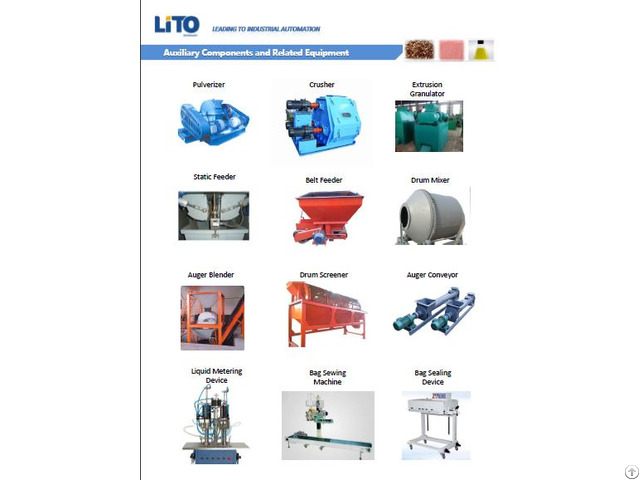 Various Fertilizer Equipment Components
