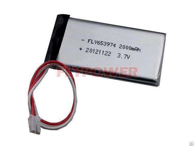 Lithium Battery Pack 3 7v 2000mah