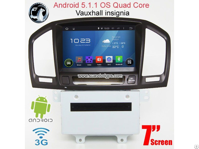 Vauxhall Insignia Android Car Radio Wifi 3g Dvd Gps Apple Carplay Dab Suv V8254a
