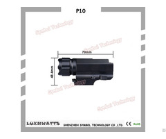 Hand Gun Light Waterproof With 400 Lumen Output Powered By A Cr123 Battery