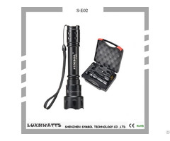 Super Bright Aluminum Alloy Zoom Flashlight With Ce Rohs Certifications