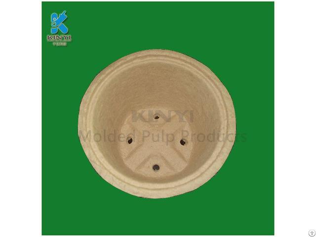 Biodegradable Fiber Pulp Dry Pressing Plant Pot