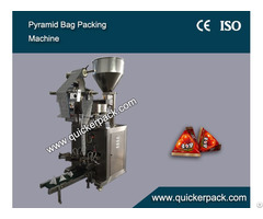 Automatic Solid Triangle Food Packing Machine