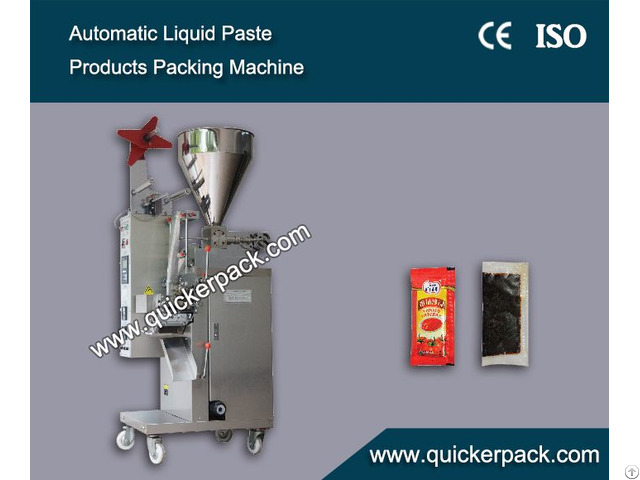 Automatic Liquid Paste Ketchup Packaging Machine