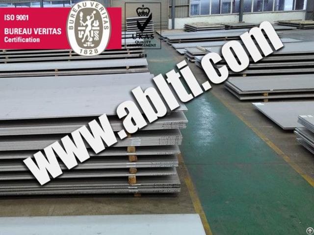 Titanium Plate Inventory In China