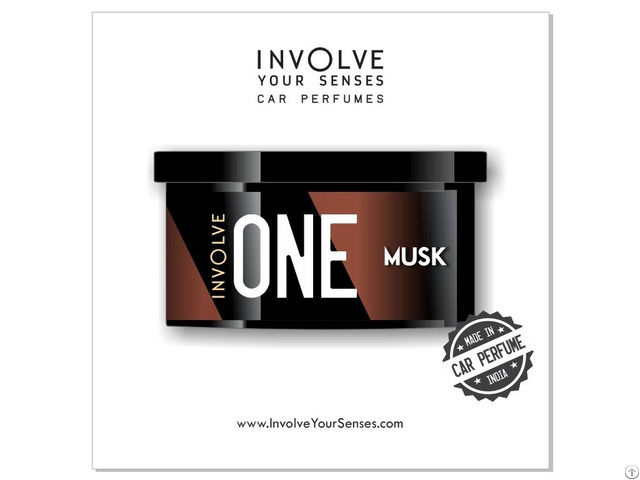 Organic Involve Spill Proof Car Air Freshener One Musk