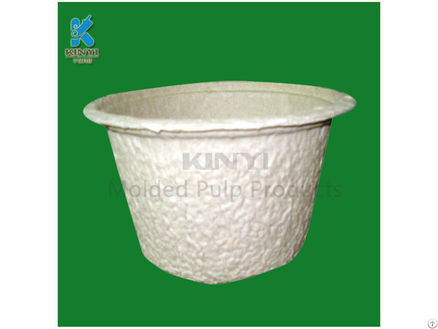 Disposable Waste Paper Pulp Barrel