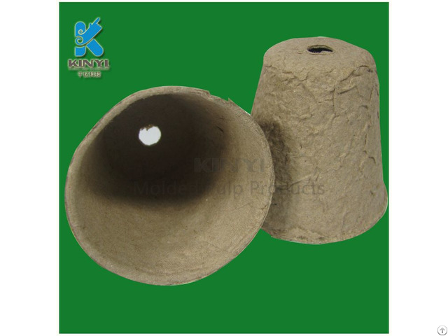 Biodegradable Waterproof Pulp Plant Pots