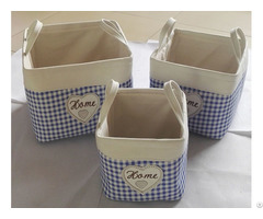Sell Cotton Fabric With Eva Laundry Bag 1