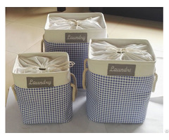 Sell Laundry Bags Used Of Cotton Farbic With Eva Coating