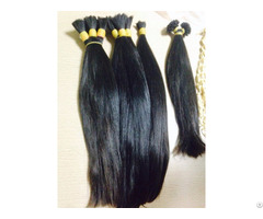 Double Drawn Bulk Straight Hair Color 1b 18