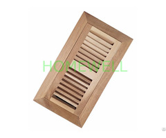 4x10 Red Oak Floor Vent