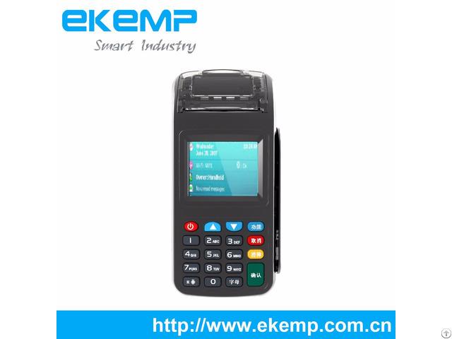 Ekemp Yk600 Pos Terminal Store Management Machine With Magnetic Stripe Card Reader