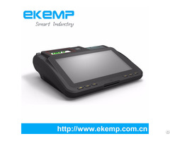 Ekemp P10 Android Tablet Pos Terminal With 2d Barcode Scanner