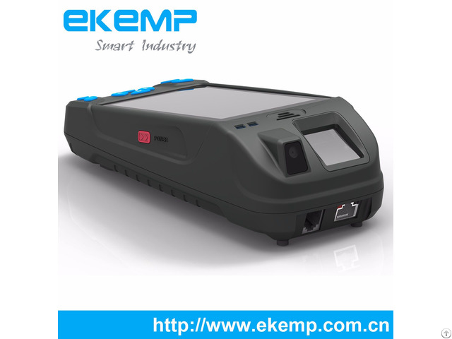 Ekemp M5 Handheld Andriod Os Fingerprint Data Collector For Information Verification