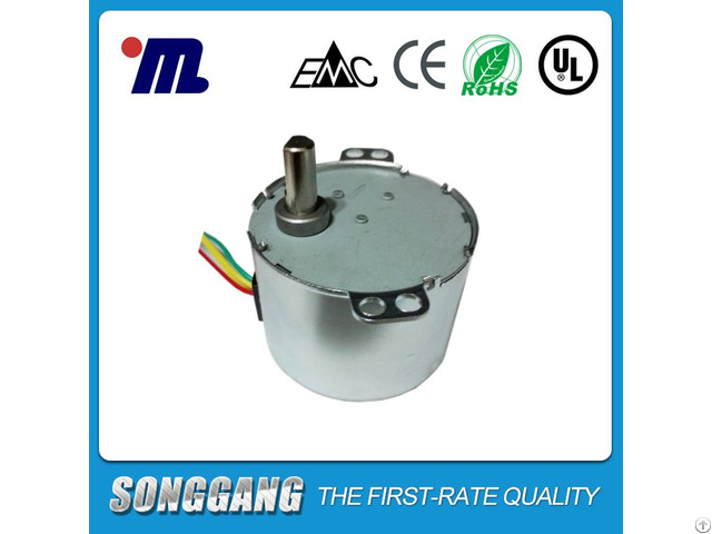 Low Rpm 4w Single Phase 24 Volt Ac Synchronous Motor For Heating Machine