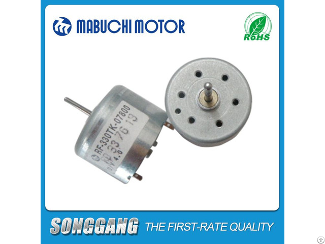 Air Freshener 1 5 Volt 800rpm Dc Mabuchi Motor Rf 330tk 07800