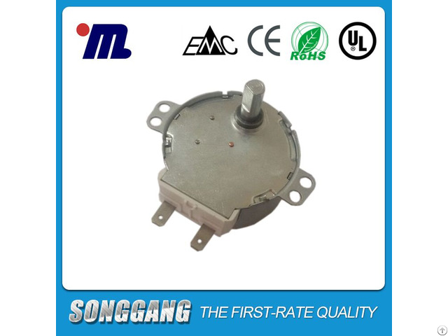 12volt Ac Synchronous Motor For Cooling Fan 49tyz With Plug Made In China