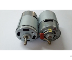 24volt 9000rpm Mirco Electric Dc Motor With Capacitance Tk Rg755