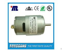 High Torque Drilling Machine Motor 18volt Dc 8800rpm Permanent Magnet Construction Tk Rs755sh