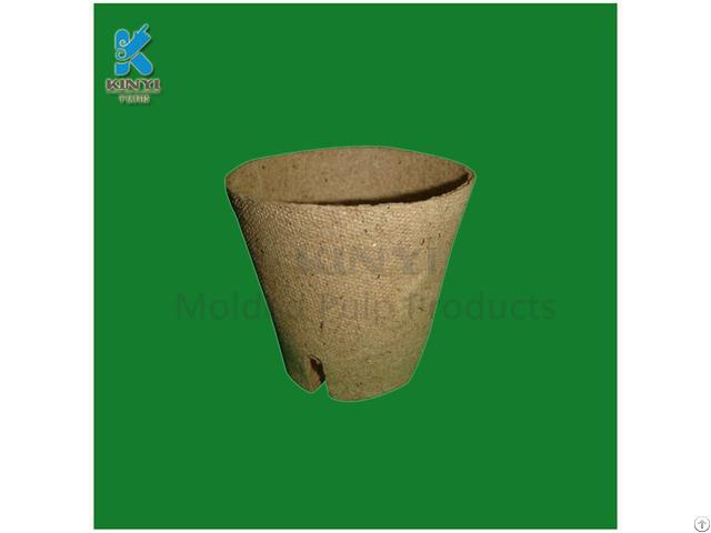 Biodegradable Fiber Pulp Nursery Pots
