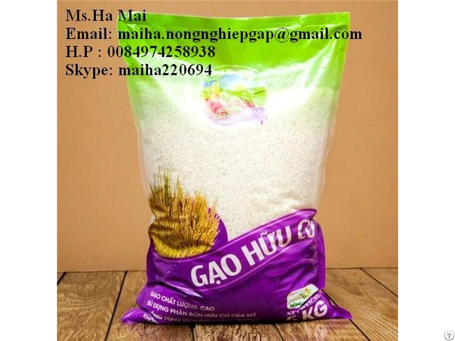 Fragrant Rice Pearl Vietnam 5% Broken Long Grain