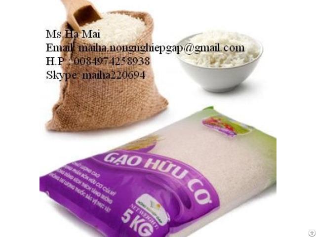 Fragrant Rice Jasmine Vietnam 5% Broken Long Grain