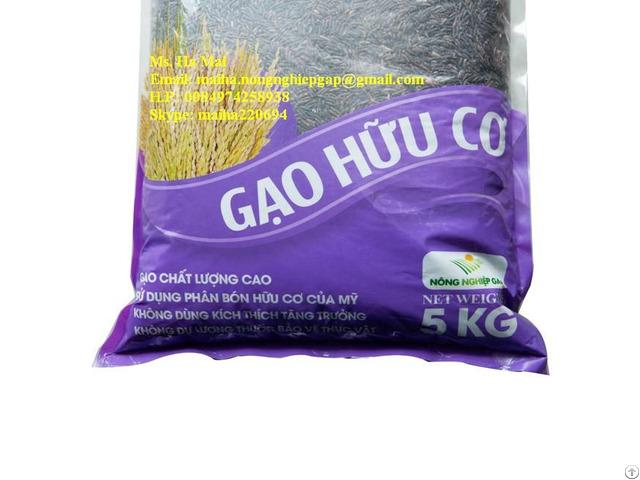 Black Rice From Vietnam Health Benefits