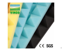 Decorative Public Product Pyramid Foam For Music Studio Room