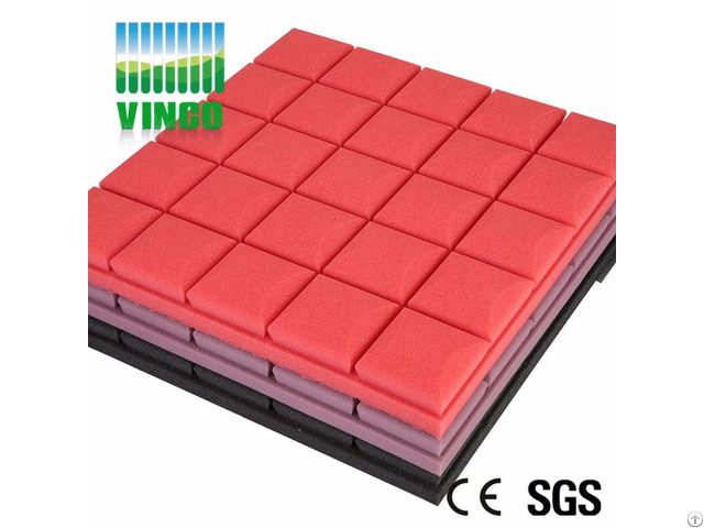 Sound Absorbing Sponge Melamine Noise Reduction Fabric Acoustic Foam