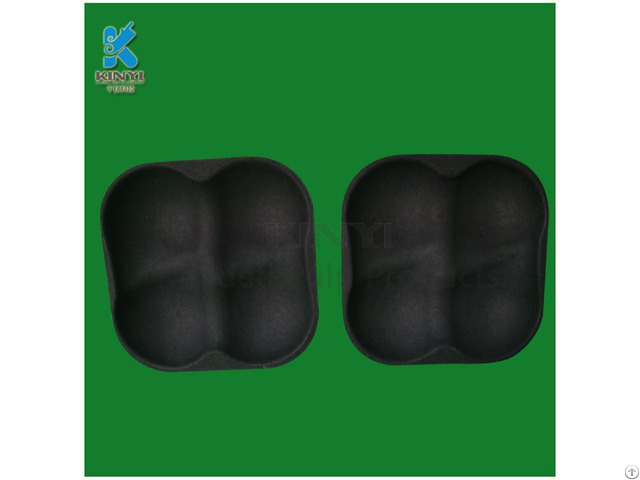 Eco Friendly Pulp Molded Vegetable Trays