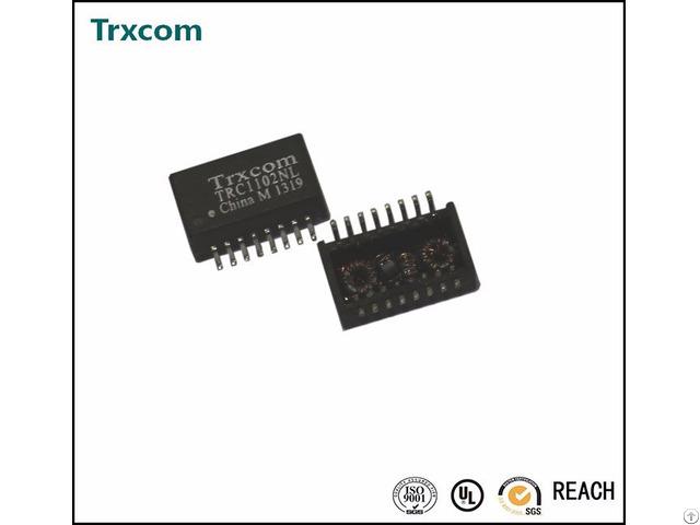 100base T Single Port Transformer Modular Trc1188nl Alternative To Bothhand
