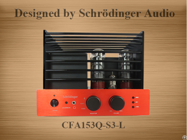 Compact Home Audi Amplifier With Bluetooth And Audio Loudness Control