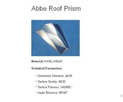Abbe Roof Prism