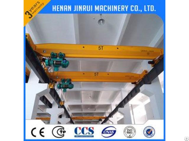 5ton Single Girder Suspension Overhead Bridge Crane