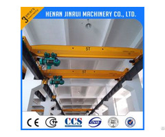 5ton Single Girder Suspension Overhead Bridge Crane