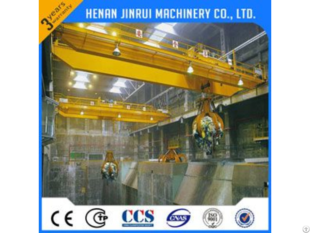 China Made Running On The Rail 50ton Overhead Crane