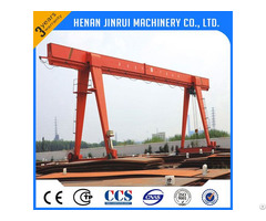 China 5ton On The Rail Moving Gantry Crane