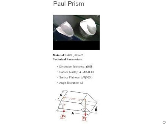 Porro Prism
