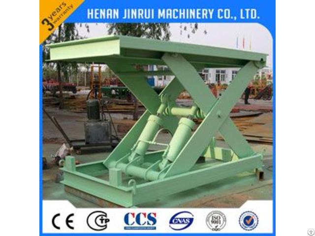 1ton Hydraulic Fixed Stationary Scissor Lift Platform
