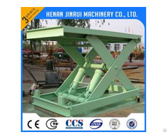 1ton Hydraulic Fixed Stationary Scissor Lift Platform