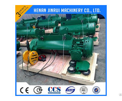 Factory Direct Sale Remote Control Wire Rope Electric Hoist